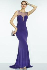 Alyce Paris - B'Dazzle - 35797 Dress in Purple