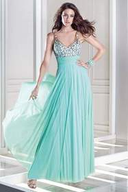 Alyce Paris - B'Dazzle - 35697 Dress in Water