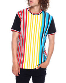 SWITCH candy vertical stripe tee