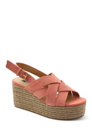Kensie Facoma Strappy Espadrille Wedge Sandal