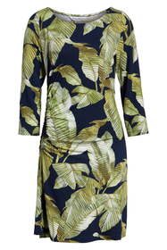 Tommy Bahama Fiesta Palms Shirred Dress