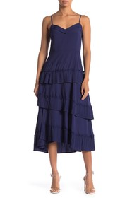 Love + Harmony V-Neck Layered Maxi Dress