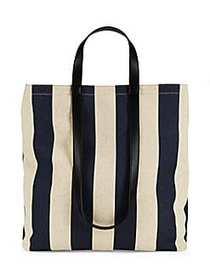 French Connection Amari Utility Striped Canvas Tot