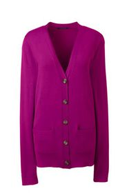 Lands End Women's Performance V-neck Cardigan with