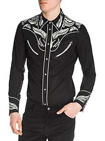 Viktor&Rolf Popeline Disco Western Shirt BLACK