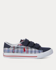 Ralph Lauren Easten Plaid EZ Canvas Sneaker
