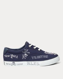 Ralph Lauren Vaughn II Canvas Sneaker