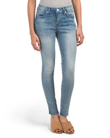 SEVEN7 Mid Rise Ankle Skinny Jeans