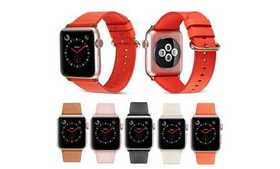 Women Genuine Leather Strap Band for Apple Watch S