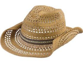 Dorfman Pacific® Women's Aztec Band Cowboy Hat