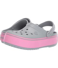Crocs Kids Crocband Platform Clog GS (Little Kid\u