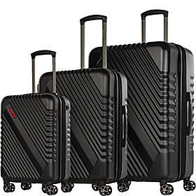 Swiss Mobility Bags Cirrus 3 Piece Expandable Hard