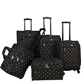 American Flyer Fleur de lis 5-Piece Spinner Set