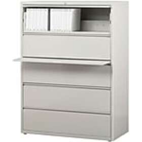 Staples 5-Drawer 42 Wide Commercial Lateral File C