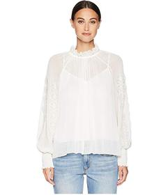 See by Chloe Floral Applique Blouse