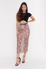Nasty Gal Womens Brown Mesh Me When I'm Gone Flora