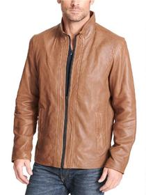 Designer Brand Buttery Soft Genuine Leather Jacket