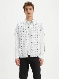 Levi's Shortsleeve Pacific No Pocket Shirt