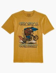 Lucky Brand Coastal Cruisin' Bear Tee