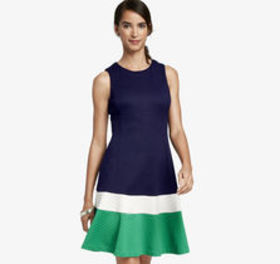 Johnston Murphy Colorblock Panel Dress