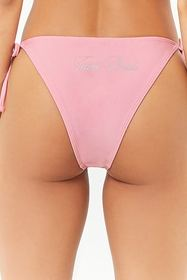 Forever21 Team Bride String Bikini Bottoms