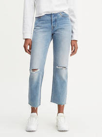 Levi's 501® Low Rise Customized Crop Jeans