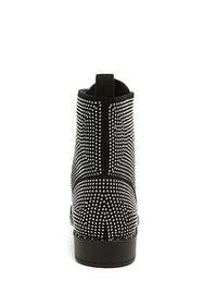 Forever21 Studded Faux Suede Booties