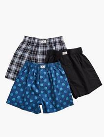 Lucky Brand 3 Pack Woven Boxer