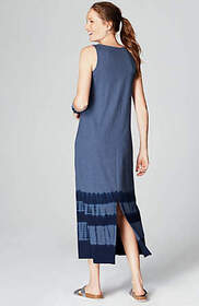 Pure Jill Tie-Dyed Maxi Dress