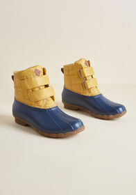 Sperry Sperry Trek, Please Quilted Boot Yellow Mul