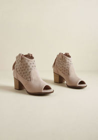 Made for Watchin' Suede Bootie Rose