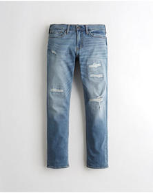 Hollister Advanced Stretch Slim Straight Jeans, ME