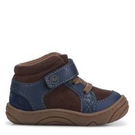 Stride Rite Kids' Ethan High Top Sneaker Baby/Todd