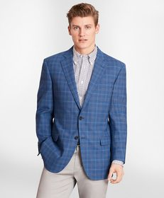 Brooks Brothers Madison Fit BrooksCool® Check Spor