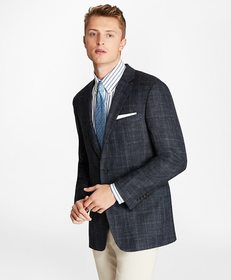 Brooks Brothers Regent Fit Three-Button Wool Blend