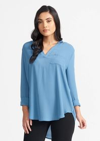 Tall Lightweight Crepe Tunic