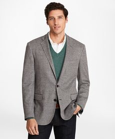 Brooks Brothers Regent Fit Multi-Houndstooth Sport