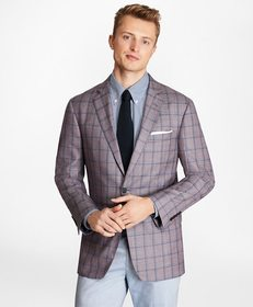 Brooks Brothers Regent Fit Plaid Sport Coat