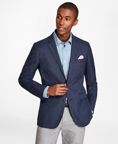 Brooks Brothers Milano Fit Hopsack Sport Coat
