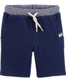 carters Baby Boy Easy Pull-On French Terry Shorts