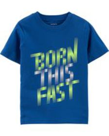 carters Baby Boy Born This Fast Jersey Tee