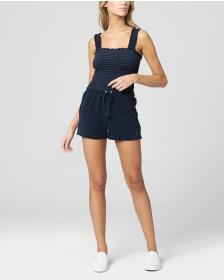 Juicy Couture MICROTERRY SMOCKED ROMPER