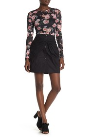 Rebecca Minkoff Ora Twisted Front Skirt