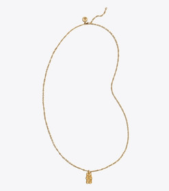 Tory Burch GUMMY PENDANT NECKLACE