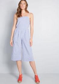 Louche Louche Effortless Outfit Cropped Jumpsuit C