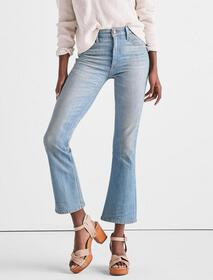 Lucky Brand Bridgette High Rise Cropped Boot Jean