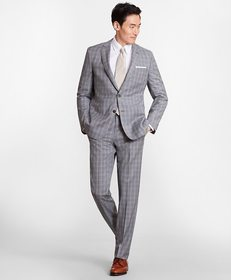 Brooks Brothers Regent Fit Three-Button Check 1818