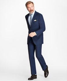 Brooks Brothers Madison Fit BrooksCool® Check Suit