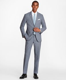 Brooks Brothers Milano Fit BrooksCool® Houndstooth