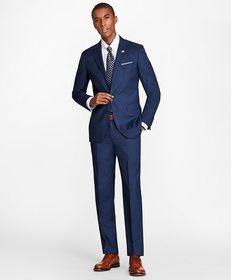 Brooks Brothers Milano Fit Double-Faced 1818 Suit